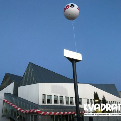 Dideli reklaminiai balionai