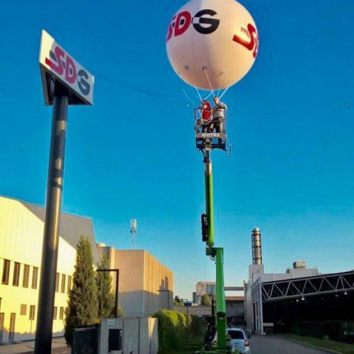 3m reklaminis balionas