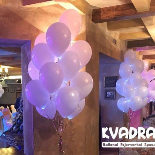 LED balionai