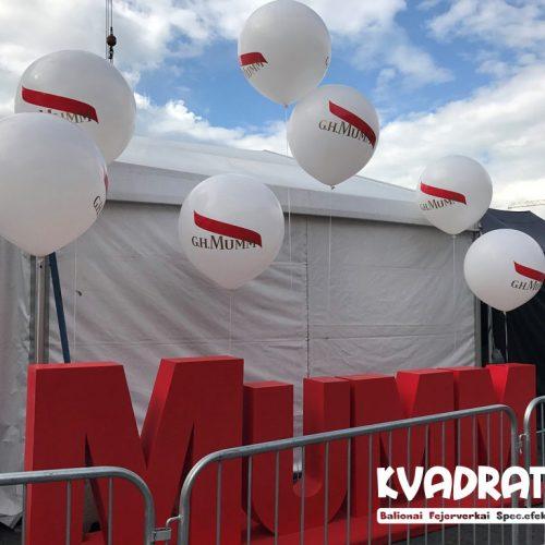 Reklaminiai dideli balionai