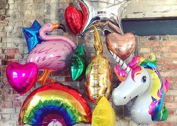 Teminiai foliniai balionai