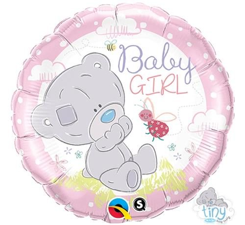 Apvalus folinis Tiny Tatty Teddy Baby Girl