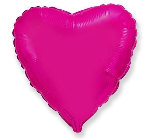 Rožinė folinė širdis