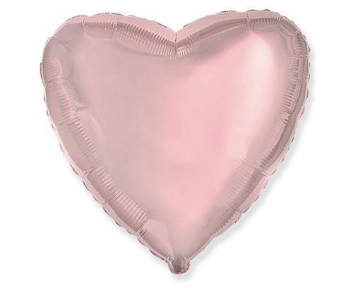 Rose gold folinė širdis