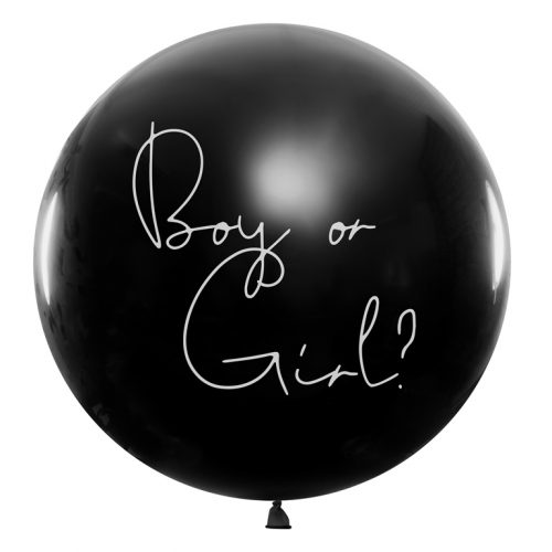 Boy or girl 90cm su konfeti