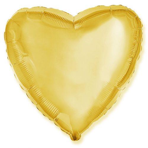 Auksinė folinė širdis