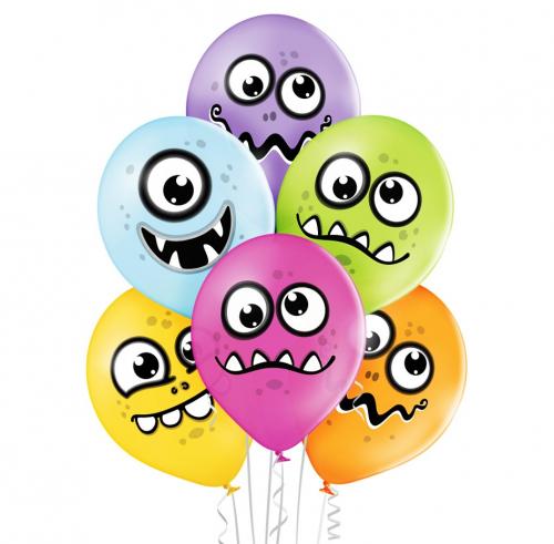Monstriukai helio balionai