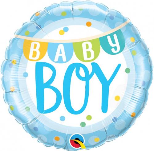 Teminis folinis balionas BABY BOY