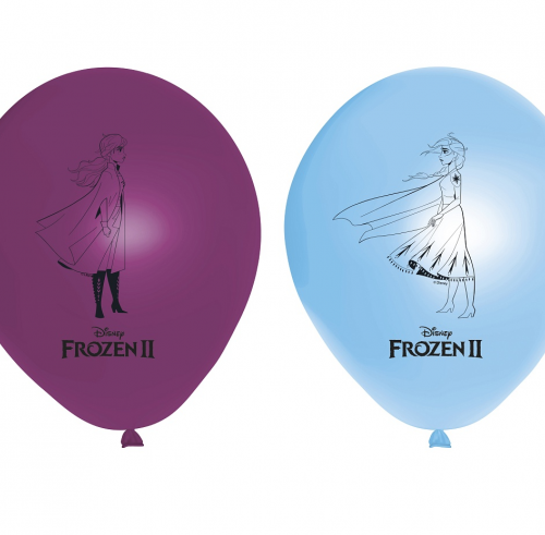 Frozen helio balionai